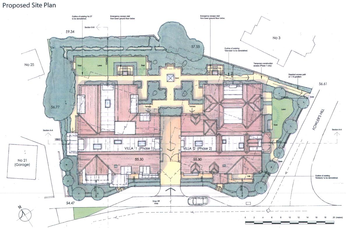 Oatway design - 58 Bedroom Care Home, Salisbury
