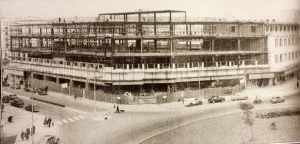Construction of the original building