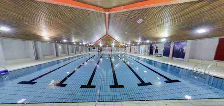 Refreshing new lighting for Exmouth Swimming Pool